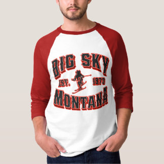 Big Sky 1973 Red Alert T-Shirt