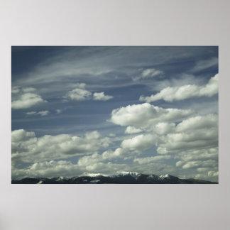Big Sky, Butte, Montana Print