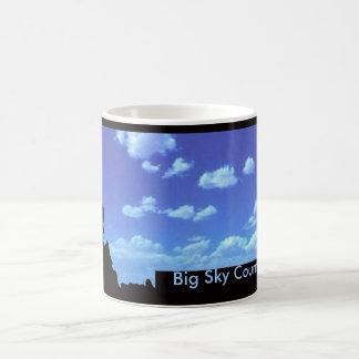 Big Sky Country Classic White Coffee Mug