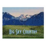 Big Sky Country Postcard