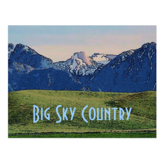 Big Sky Country Postcard
