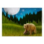 Big Sky Grizzly Card