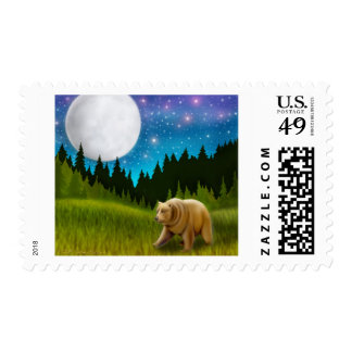 Big Sky Grizzly Postage