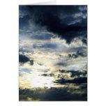 Big Sky I Greeting Card