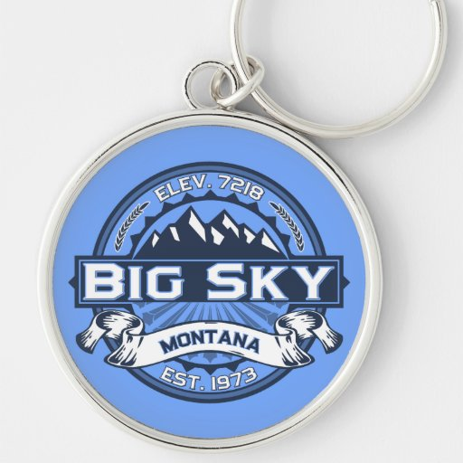 Big Sky Logo Keychain