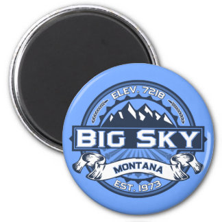 Big Sky Logo Magnet Fridge Magnet