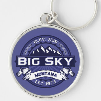 Big Sky Logo MIdnight Keychain