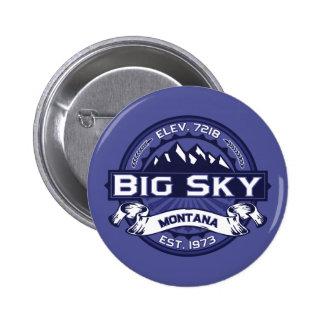 Big Sky Logo MIdnight Pinback Button