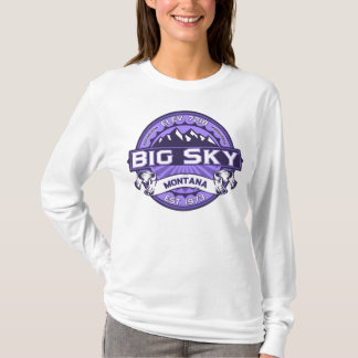 Big Sky Logo Violet T-Shirt