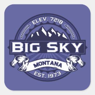 Big Sky Midnight Square Sticker