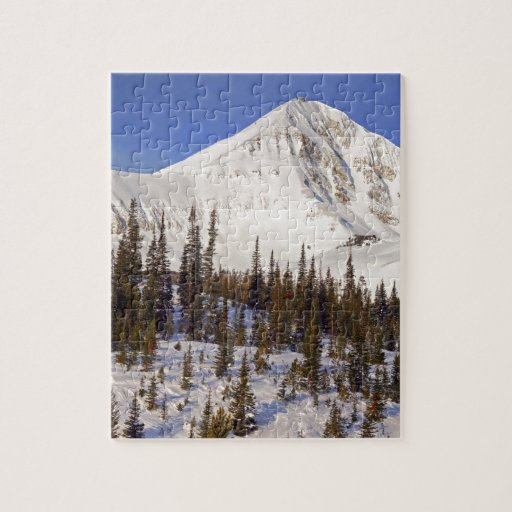 Big Sky Montana mountains Puzzle