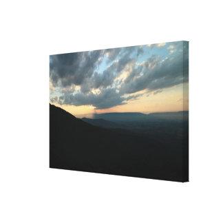 Big Sky n Mountains Canvas Print