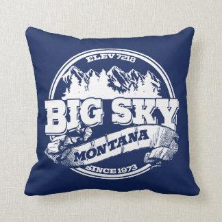 Big Blue Throw Pillows : Circle Pillows - Decorative & Throw Pillows Zazzle