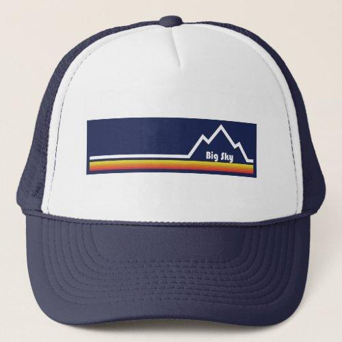 Big Sky Resort Trucker Hat