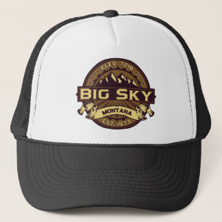 Big Sky Sepia Trucker Hat