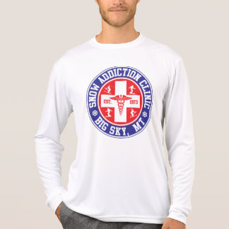 Big Sky Snow Addiction Clinic Logo T-Shirt