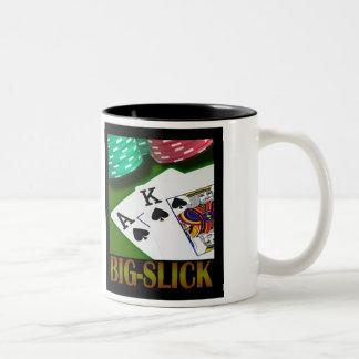 Big-Slick Two-Tone Coffee Mug