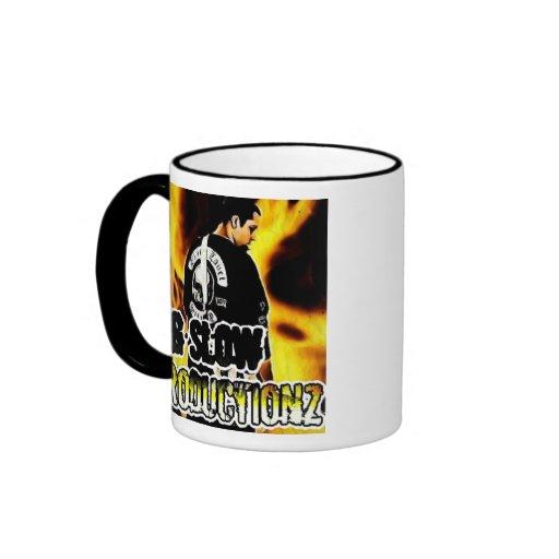 Big Slow Productionz Ringer Coffee Mug