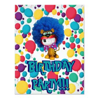 Big Smile Birthday Party Invitation