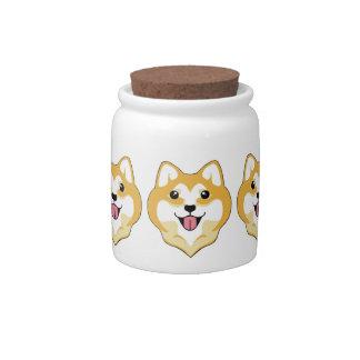 Big Smile Candy Jar @ Kiki the Shiba
