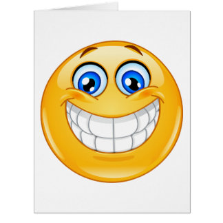 BIG Smile Greeting Card - SRF