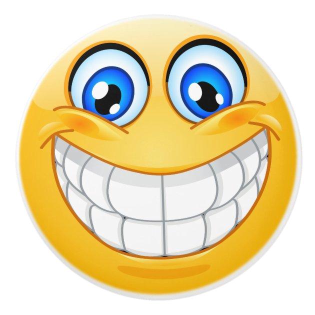 Big Smile Happy Face Drawer Knob Srf Zazzle Com