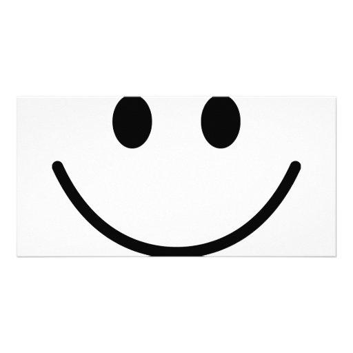 big smile photo card