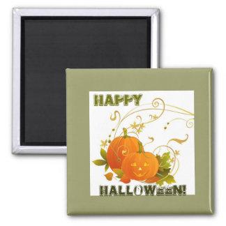 Big Smile Pumpkins! 2 Inch Square Magnet
