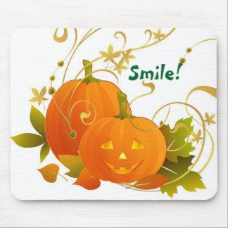 Big Smile Pumpkins! Mouse Pad