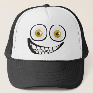 Big smile trucker hat