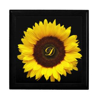 Big Smile/Yellow Sunflower Jewelry Box