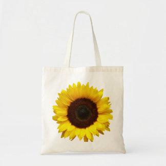 Big Smile/Yellow Sunflower Tote Bag