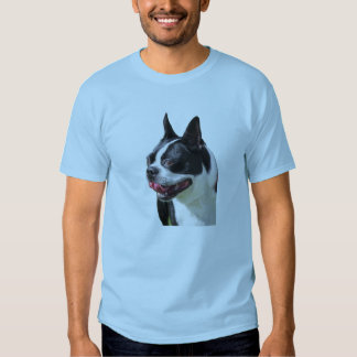 Big Smiley Boston Bull Terrier T-shirt