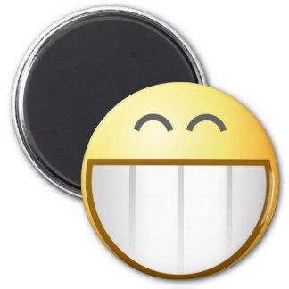 Big Smiley Magnet