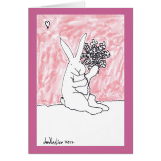 Big Snowflake - greeting card