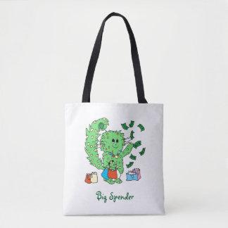 Big Spender tote bag
