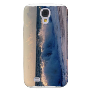 Big splashing waves sunrise Florida beach Samsung Galaxy S4 Case