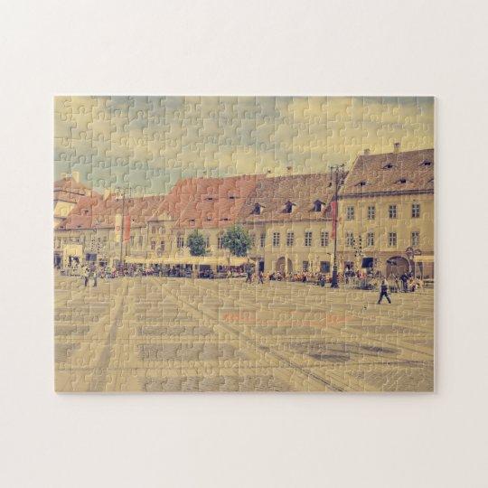 Big Square, Sibiu Jigsaw Puzzle