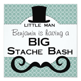 Incredible Stache Bash Invitations Announcements Zazzle Short Hairstyles Gunalazisus