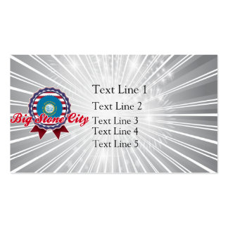 Big Stone City, SD Double-Sided Standard Business Cards (Pack Of 100)