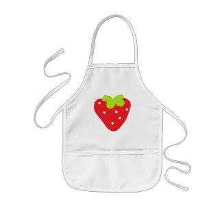 Big Strawberry Kids' Apron