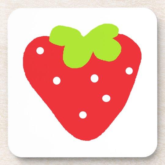 Big Strawberry Coaster