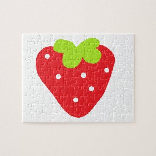 Big Strawberry Puzzle