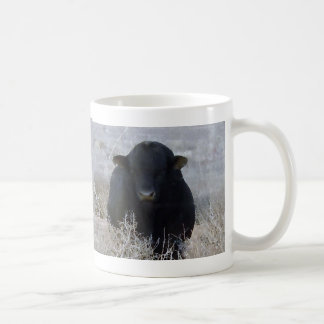 Big Strong Black Bull Tumbleweeds - Toro - Taurus Coffee Mugs