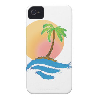 Big Sun, Palm and Surf Case-Mate iPhone 4 Case