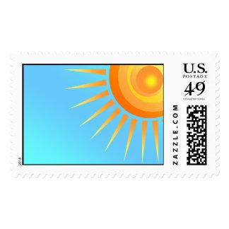 Big Sun stamp