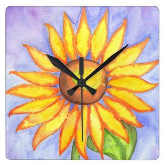 Big Sunflower Clock