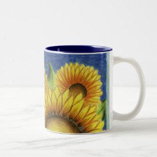 Big Sunflower Coffee Mug