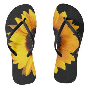907d80fb9 Sunflowers Sandals   Flip Flops