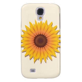 Big Sunflower Galaxy S4 Covers